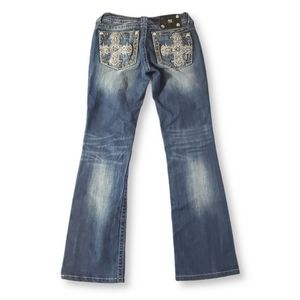 MISS ME Blue Regular Rise Jeans Bootcut Size 29/32